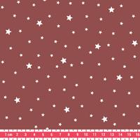 Tissu Première Etoile coloris Marsala 20 x 140 cm