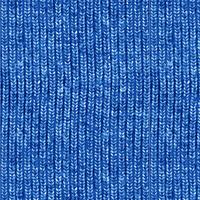 Tissu Trompe-l'oeil tricot bleu 20 x 110 cm