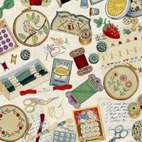 Tissu Sewing notions 20 x 110 cm