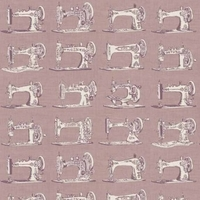 Tissu Sewing Machines à coudre 20 x 110 cm
