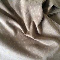 Pluie d'or, suédine stretch grège 20 x 140 cm