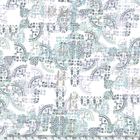 Liberty Mosaic Lace coloris A 20 x 137 cm