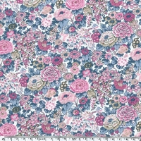 Liberty Elysian rose et bleu coloris C 20 x 137 cm