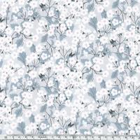 Liberty Mitsi gris perle coloris E 20 x 137 cm