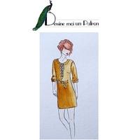 Patron robe Eole