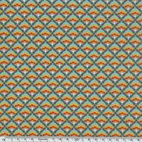 Toile enduite Azulejos 20 cm x 140 cm