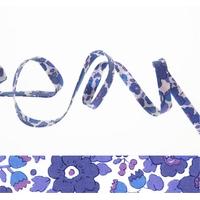 Biais Liberty Betsy lavande coloris T 50cm