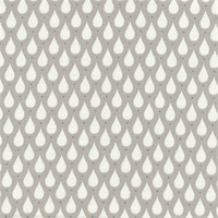 Toile enduite Teardrops coloris toffee 20 cm x 140 cm