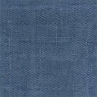Lin enduit coloris bleu 20 cm x 140 cm