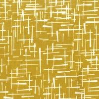 Tissu Haystack coloris moutarde 20 x 110 cm