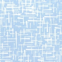 DERNIER COUPON Tissu Haystack coloris bleu 95  x 110 cm