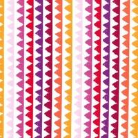 Tissu Zipper stripe coloris coral 20 x 110 cm