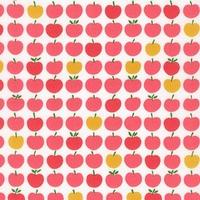 DERNIER COUPON Tissu Pommes Apples Blossom 80 x 110 cm