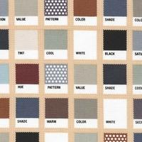 Tissu Nuancier coloris terre 20 x 110 cm