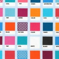 Tissu Nuancier coloris sweet 20 x 110 cm