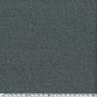 Bord-côte gris chiné assorti au molleton 20 x 64 cm