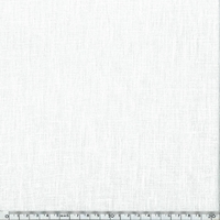 Lin épais blanc cassé 20 x 140 cm