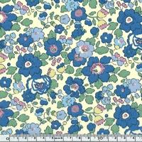 Liberty Betsy bleu et vert coloris M 20 x 137 cm