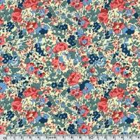 Liberty Claire Aude ardoise coloris S 20 x 137 cm