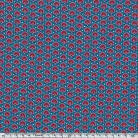 Liberty Seth Rankine bleu pétrole 20 x 137 cm