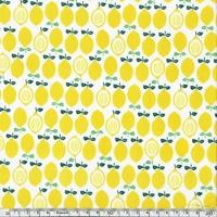 Tissu Citrons 20 x 110 cm