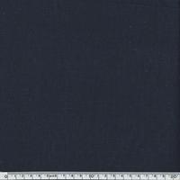 Lin épais bleu marine 20 x 140 cm