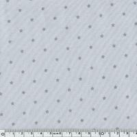 Jersey mini étoiles grises 20 x 140 cm
