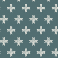 DERNIER COUPON Tissu Heartland Unn Cross Pine 2m x 110 cm