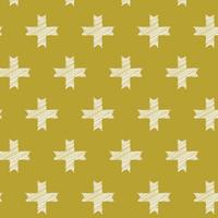 Tissu Heartland Unn Cross Ochre 20 x 110 cm