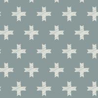 Tissu Heartland Unn Cross Silver 20 x 110 cm