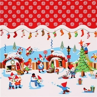 Tissu Frise Holly Jolly Gnomes 20 x 110 cm