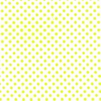 Tissu Dumb Dot jaune fluo coloris lemon 20 x 110 cm