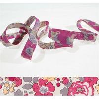 Biais Betsy Bougainvilliers coloris W x 50cm