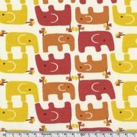 Jersey Bio Eléphants 20 x 110 cm