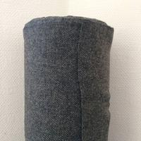 Lainage Twill Shetland gris 20 x 150 cm