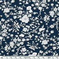 Liberty Summer Blooms marine coloris C 20 x 137