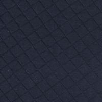 Jersey matelassé FDS marine 20 x 130 cm