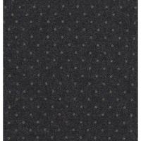 Lainage FDS gris foncé pois or 20 x 148 cm