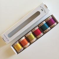 Pack de 6 nuances de soie perlée coloris glazig (6x16m)
