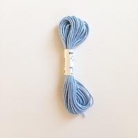 Echeveau de 5m de soie d'Alger bleu ciel coloris 4921