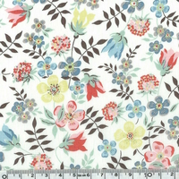 COUPON de Liberty Edenham Edelweiss coloris W 20 x 137 cm