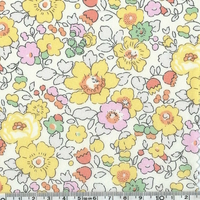PETIT COUPON Liberty Betsy bouton d'or 45 x 65 cm