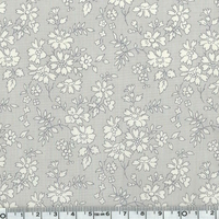 COUPON Liberty Capel Gris clair 80 x 137 cm