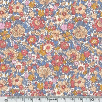 Liberty Amelie Blue Jeans coloris D 20x 137 cm