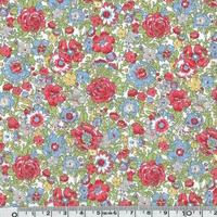 Liberty Amelie Fraise coloris E 20x 137 cm