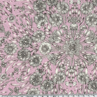 Liberty Lady Zadie rose coloris B 20 x 137 cm