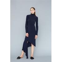 Patron 003 robe asymétrique maille
