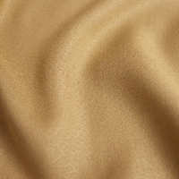 COUPON tissu crêpe de viscose Mustard 1m10 x 140 cm
