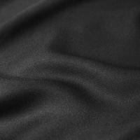 DERNIER COUPON crêpe Black 55 x 140 cm