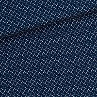 Tissu Marching Marbles Bleu Foncé 20 x 140 cm